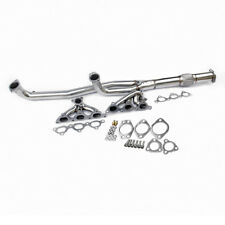 MITSUBISHI 3000GT GTO STEALTH TURBO STAINLES EXHAUST MANIFOLD HEADER+GASKET KITS