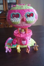 MY LITTLE PONY BALLOON HOUSE PLAY SET WITH LIGHT AND 4 FIGURES