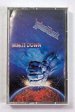 Judas Priest Cassette Tape Ram It Down EUC!