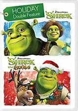 Holiday Double Feature Shrek & Shrek The Halls Dvd New