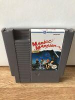 MANIAC MANSION NINTENDO NES GAME UK V PAL A *CART ONLY* VGC