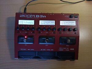 Zoom B3N Effektpedal für E-Bass mit Koffer und Netzteil - kostenloser Versand