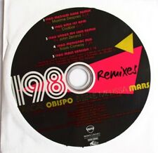 "PASCAL OBISPO & MELISSA MARS - CD SINGLE PROMO ""1980 - REMIXES"""