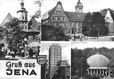 AK, Jena, Gruß aus Jena, vier Abb., 1972