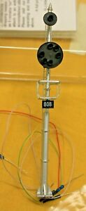 S Scale - N. J. INTERNATIONAL 4314 B&O Mast Position Signal - LED Lighting