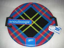 """Brand New RARE 25"""" Wham-O Snow Boogie Round Disc Saucer Sled Whamo 2011  w/ Tags"""