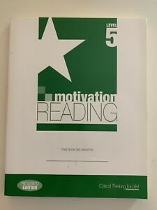 Motivation READING Level 5 Mentoring Minds Revised Edition Student Edition
