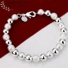 Armband Damen Silber S925 Schmuck Sterling 925 Armreifen Silver Kugel Kristall