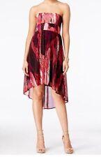 INC Women's XL Exotic Feather Convertible Skirt Dress Chiffon Summer $79 NWT
