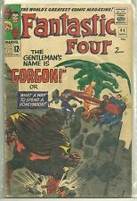 Fantastic Four #44 Marvel (1965) Silver Age Comic (1st Gorgon App.) FN-/FN