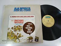 "El Mundo Esta loco Soundtrack Ernest Gold 1982 - LP 12 "" vinyl VG/VG"