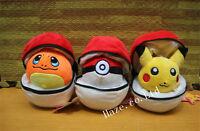 """Pokemon Poke Ball Stuffed Soft Plush Toy Doll Kids Gifts Xmas Gifts 6"""" Funny"""