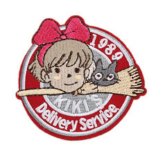 """1989 Kiki's Delivery Service Kids Embroidered 2.8"""" Patch Iron Sew On Appliques"""