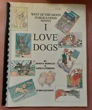 I Love Dogs by Jenova Moseley - Stained Glass Pattern