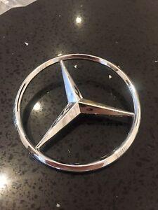 Mercedes-Benz Rear Boot Badge Emblem C B E S GLK ML 90mm Flat Pinned FREE P&P