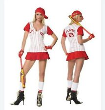 Home Run Hitter womens costume 5pc Leg Avenue 83130 size xs and s//m