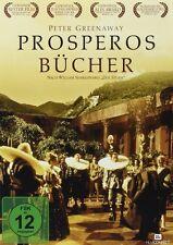 PROSPEROS LIBRI Peter Greenaway JOHN GIELGUD DVD nuovo