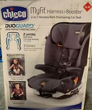 New ListingChicco MyFit Harness + Booster Child Safety Baby Car Seat, Fathom