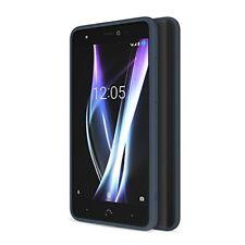Carcasas azul Para BQ Aquaris E5 para teléfonos móviles y PDAs