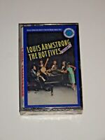 LOUIS ARMSTRONG THE HOT FIVES VOL 1 CASSETTE TAPE SEALED BRAND NEW CJT 44049