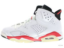 "AIR JORDAN 6 RETRO ""INFRARED PACK"" 384664-103 white/infrared-black 6 Size 11"