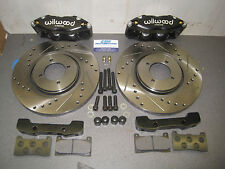 Mk1 Mk2 Escort Wilwood Midilite 4 Pot Brake Set Up 285mm  Vented Brake Kit