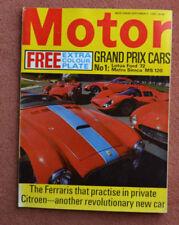 September Motor Magazines in English