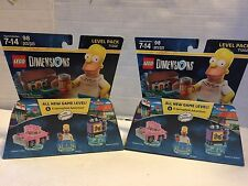 TWO LEGO DIMENSIONS :THE SIMPSONS A SPRINGFIELD ADVENTURE 71202