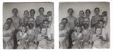 Famille Snapshot Photo Amateur A13 Plaque de verre Stereo