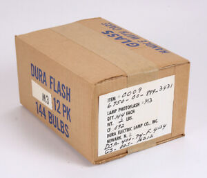 CASE OF 144 M3 FLASHBULBS/215591