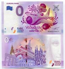 Europa Park Germany 0 Euro Souvenir Note 2017 Series 2 Voletarium Collectible