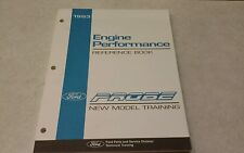 1993 Ford Probe Engine Performance Reference book