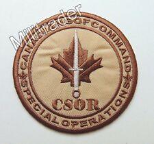 Canada Canadian Special Operations Regiment (CSOR) Patch (Desert)