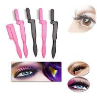 Fashion Makeup Tool Metal Brush Lash Comb Steel Needles Eyelash Separator