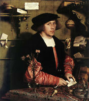 Art Oil painting Holbein Hans - Male Portrait of the Merchant Georg Gisze canvas