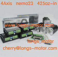 Longs motor 4axis Nema23 stepper motor 425oz 4.2A 23HS9442  CNC Router