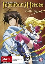 Legend Of The Legendary Heroes : Collection 1 (DVD, 2012, 2-Disc Set)-REGION 4