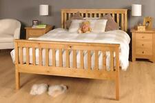 Wooden Kingsize Bed 5ft Pine Frame With Mattress