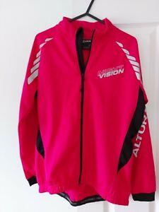 Altura night vision cycling jacket Womens