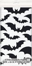 Halloween Horror Batman Party Spooky Bats Table Cover Tablecloth Decoration NEW