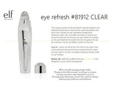 e.l.f. EYE REFRESH #81912 CLEAR BNIB Relieve Puffiness and Darkness