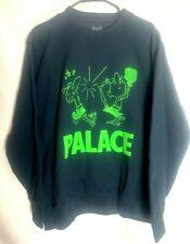 Palace Skateboards usa KO crew navy pull over sweater