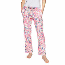 Joules Snooze Bottoms Womens Underwear Pyjamas - Cream Floral All Sizes
