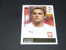 N°235 DARIUSZ DUDKA POLOGNE POLSKA PANINI FOOTBALL UEFA EURO 2008