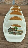 VINTAGE FOSTERS POTTERY toast rack collectable mid century