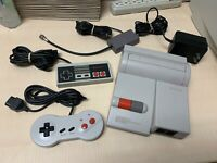 Nintendo NES Top Loader Console System Bundle Authentic TESTED & CLEANED!!