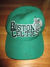 Vintage Starter BOSTON CELTICS Block Leprechaun (Adjustable Snap Back) Cap GREEN