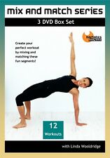 PILATES BARRE DVD - Barlates Body Blitz MIX AND MATCH SERIES BOX SET 12 workouts