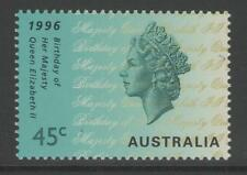 AUSTRALIA SG1589 1996 BIRTHDAY OF QEII MNH