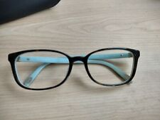Tiffany Eyeglass Frames TF 2094 Tortoise Blue very nice pre owned 54-17